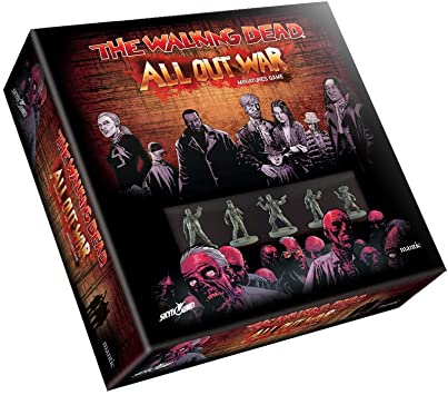 Mantic Games Wd001 Walking Dead All Out War Tabletop Zombie Game Includes 28mm Miniatures X18 Amazon Co Uk Toys Games