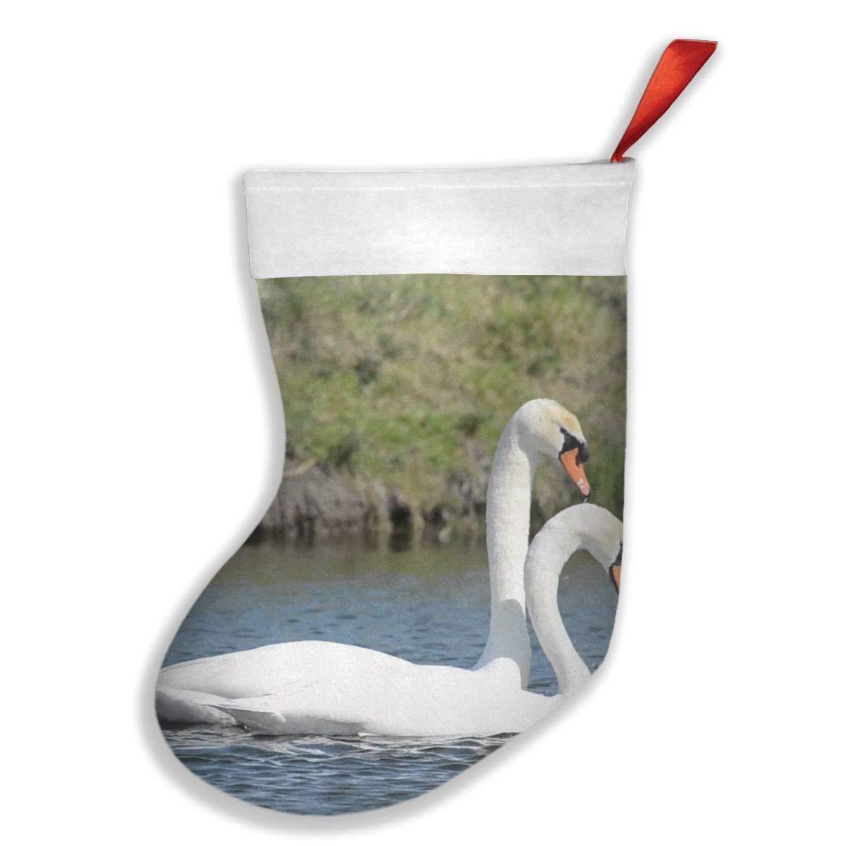 PO1 UP Swans Christmas Stocking
