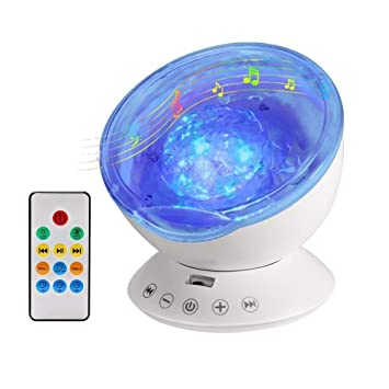 Luz de Proyector, Lámpara de Océano Proyector: Amazon.es ...