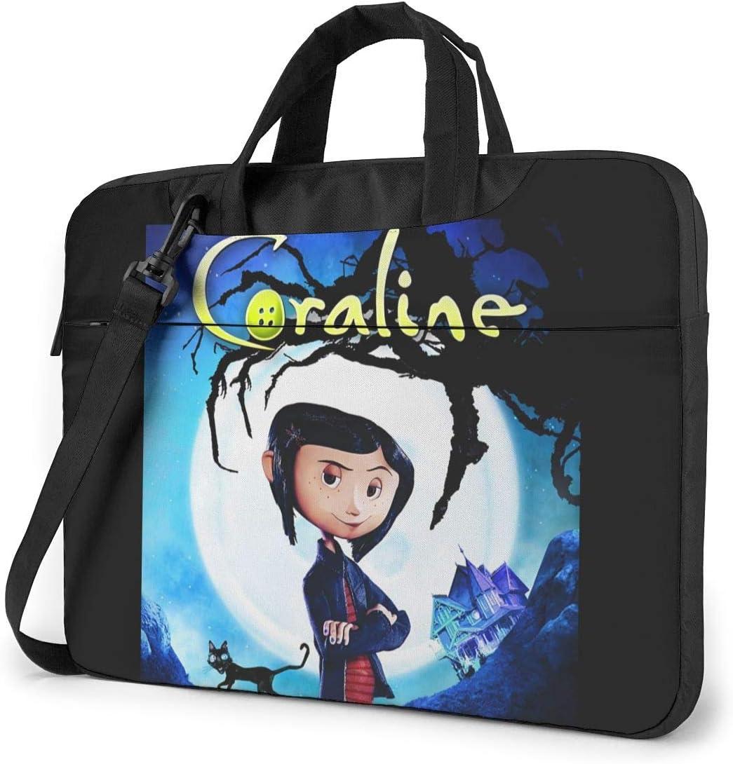 Amazon Com Juaohuan Coraline Laptop Shoulder Messenger Bag Case Briefcase Sleeve For 13 Inch 14 Inch 15 6 Inch Laptop Case 15 6 Inch Home Kitchen