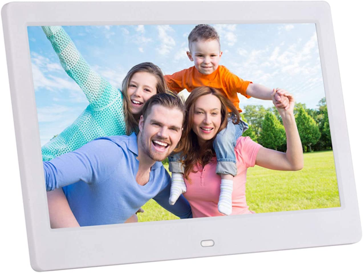 ACOWSUN Digital Picture Frame 15 Inch HD 1280X800 Plastic case Can Play Photos Music Videos When Insert Photo Frames USB SD with Remote Control and 4G SD Card Include