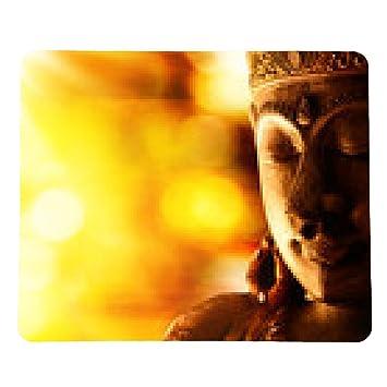 alfombrilla de ratón estatua de Buda de bronce: Amazon.es ...
