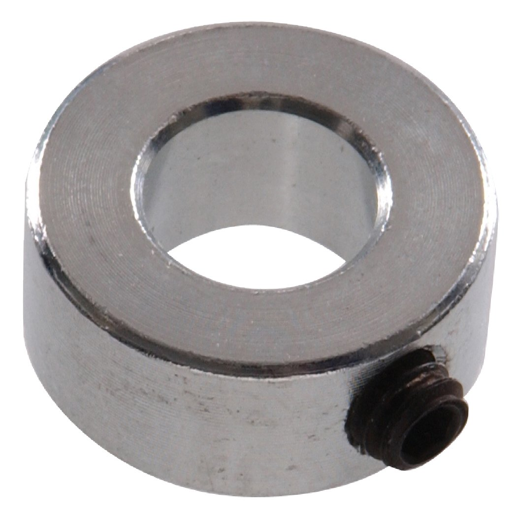 The Hillman Group 58330 Shaft Collar, 7/16 x 7/8 x 7/16-Inch, 6-Pack