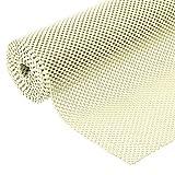 Grip Liner Non-Adhesive Shelf Liner, Anti-Slip Mat Drawer Liner 12 in. x 20 ft. (Beige)