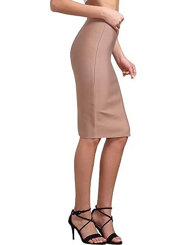 Adyce Bandage-Dress-Fasciante-Vestito Donna Sexy bandag vestito xs gonna nudo, rosa matita vestito c...