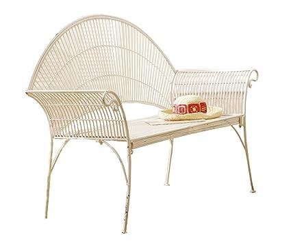 Cbk Ltd 32 34 Inch L Garden Style Bench With Rolled Wire Design