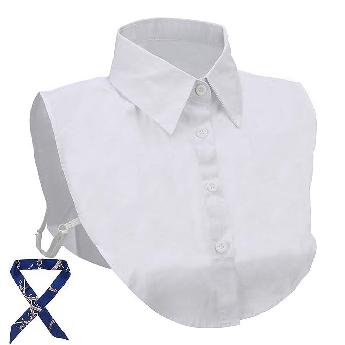 Camicia donna cotone falso unito