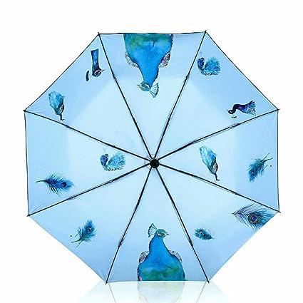 Kaxima Paraguas, paraguas, mujer, lluvia paraguas, protección solar, protección UV,