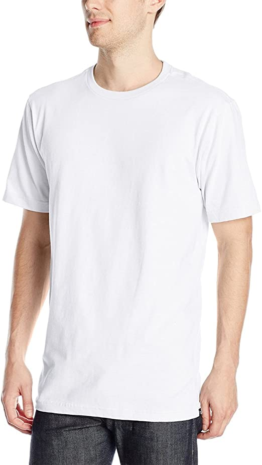 White Mens T-Shirts Rip Curl Distort Lines T-Shirt