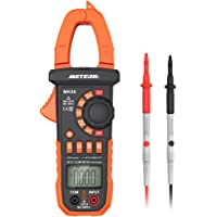 Pince Amperemetrique Meterk® 4000 Compteurs Sans contact Multimètre Plage automatique AC / DC Tension Courant Résistance Capacité (4000 Compteurs Sans contact Multimètre)