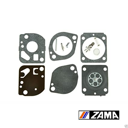 Amazon.com: rb-165 Genuine Zama Carburador Kit De Reparación ...