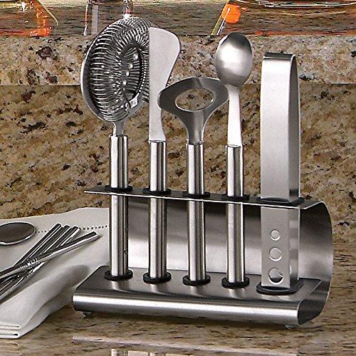 UPC 024147126294, Stainless Steel 6-piece Bar Tool Set #6861/Screwpull BW-105