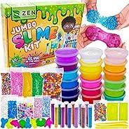 DIY Slime Kit for Girls Boys - Ultimate Glow in the Dark Glitter Slime Making Kit Arts Crafts - Slime Kits Sup
