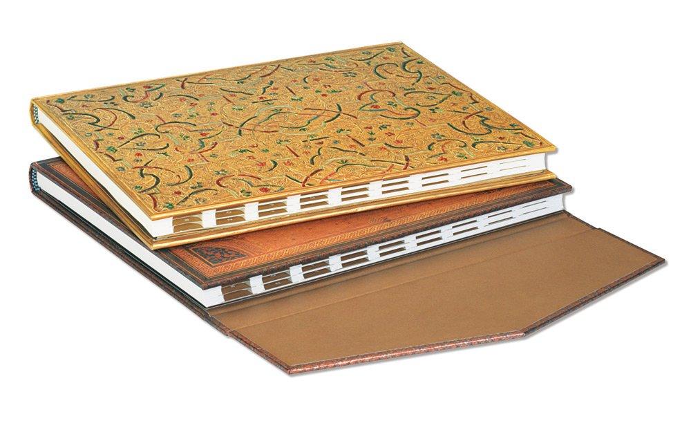Paperblanks Gold Inlay Midi Address Book