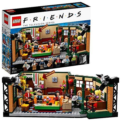 LEGO Ideas – Central Perk, set de construcción, set de la cafetería por el 25 aniversario de la serie, revive los mejores momentos junto a Ross, Rachel, Phoebe, Joey, Chandler y Mónica (21319)