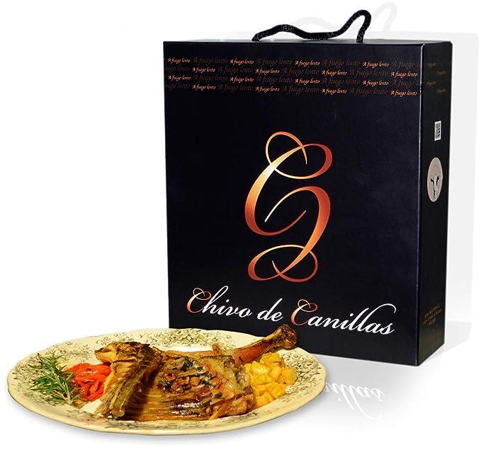 Chivo de Canillas - Estuche Gourmet con medio chivo lechal asado ...