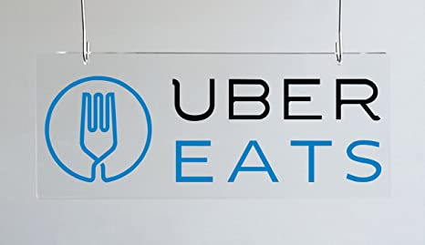 Amazon com : UBER EATS Pick-up Sign -McDonald & Restaurants Phone