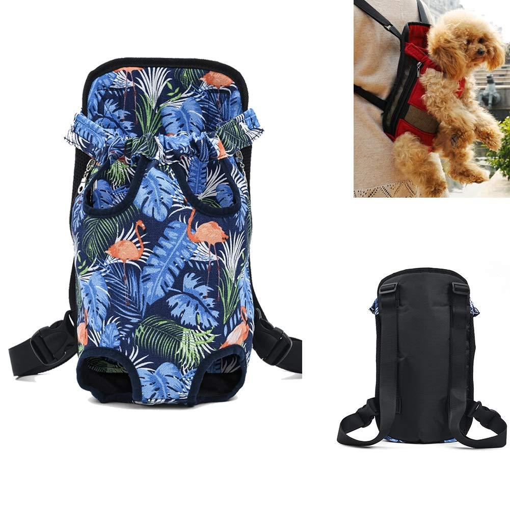 M Pet Chest Bag Portable Pet Backpack (Size   M)