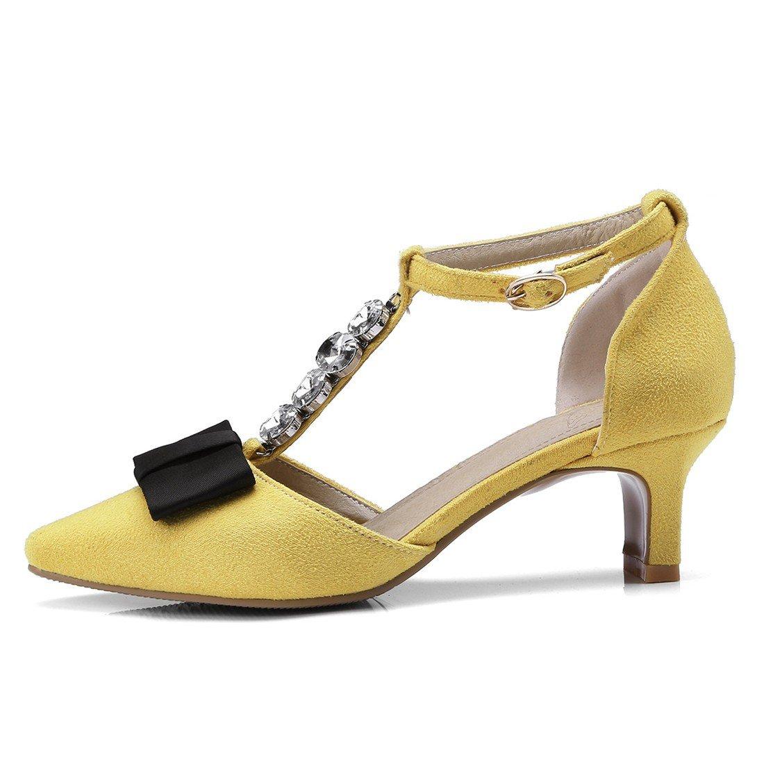 Mesdames Les Sandales, B001949G88 yellow Noeud Papillon, Sandales, Sandales, Diamond Sandales, des Sandales, des Sandales, des Sandales et des Sandales. yellow b536cc2 - boatplans.space