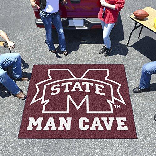 Mississippi State University Man Cave Tailgater Rug 60