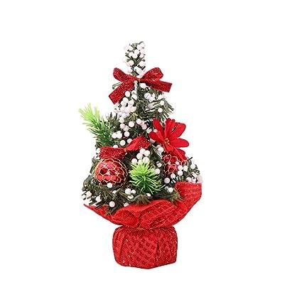 20cm simulation christmas trees artificial mini christmas tree small desktop christmas decoration supplies red