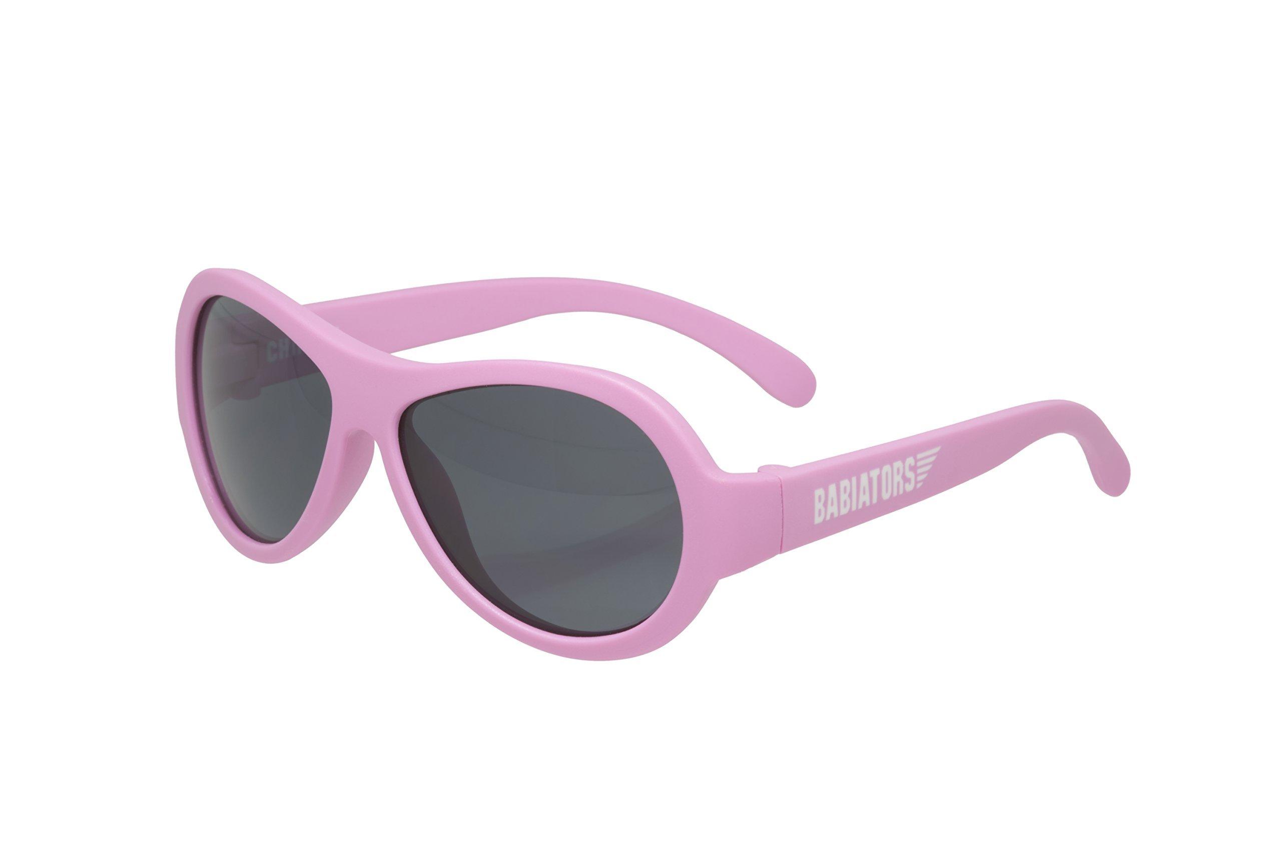 Babiators Original Aviator Sunglasses, Princess Pink Classic (3-5 years)
