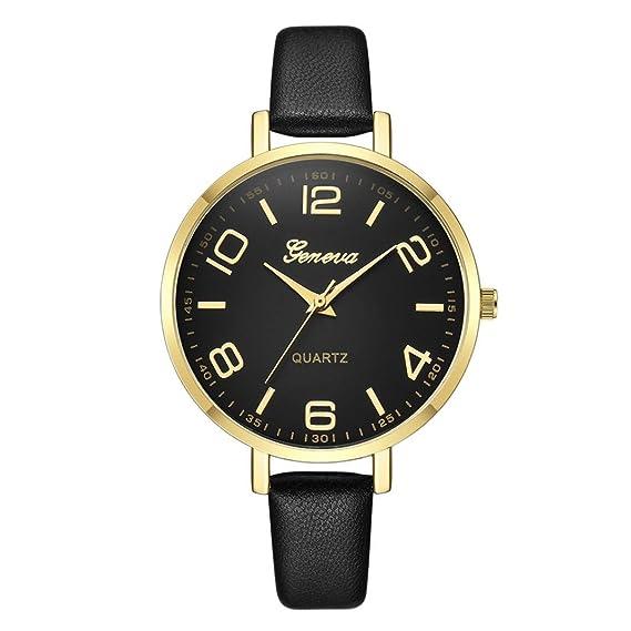 3dd5f48988 Amazon.com: Ladies Watches - Perman Geneva 41MM Big Watch Case ...