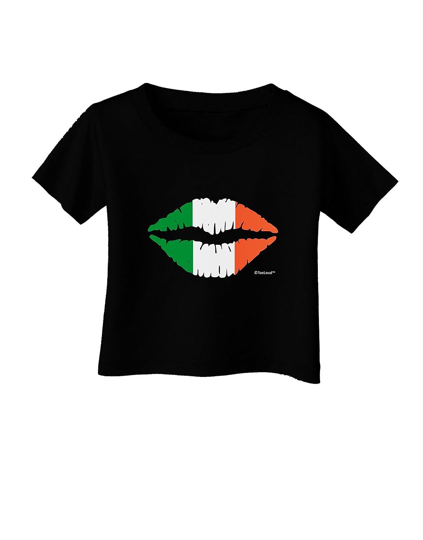 TooLoud Irish Flag Kiss Infant T-Shirt Dark
