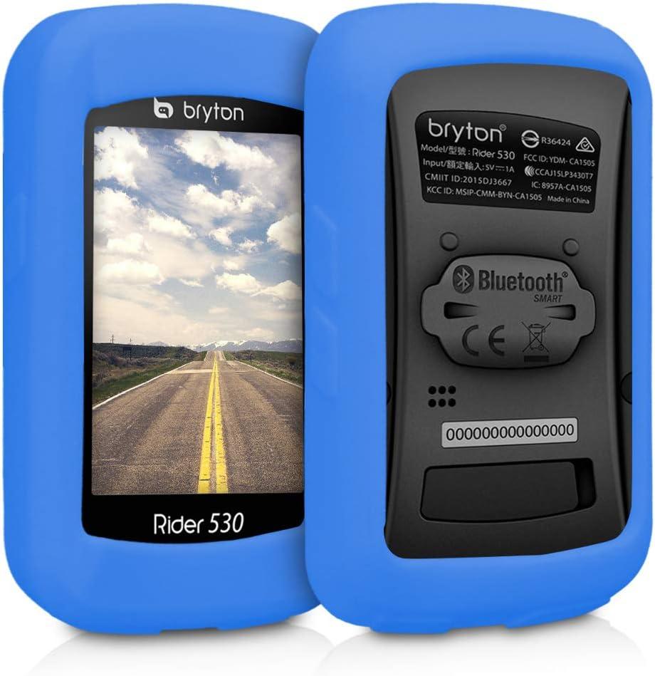 kwmobile Housse Compatible avec Bryton Rider 860 Noir Sacoche de Protection pour GPS V/élos en N/éopr/ène