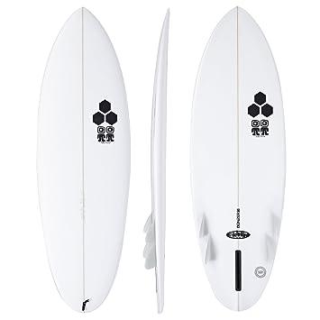 Channel Islands Biscuit Bonzer - Tabla de surf, 1,5 m, color blanco