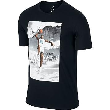 d2d436081bd NIKE Jordan Men's Dunk from Above Jumpman T-Shirt-Black-2XL at ...