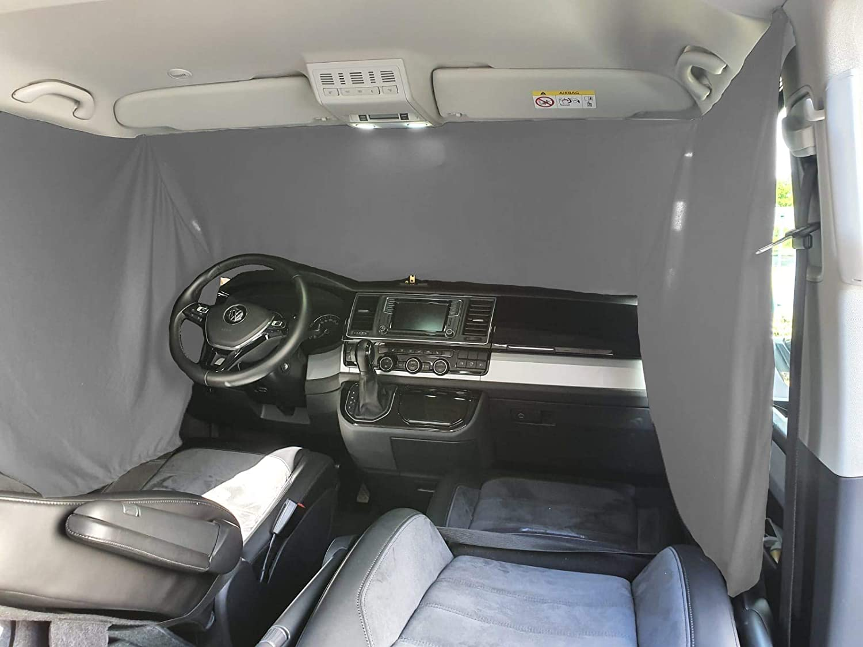 Frontscheibe Sonnenschutz Camping F/ührerhaus Gardinen Vorhang kompatibel mit Opel Combo C ab 2001-2011 FB F/_GR