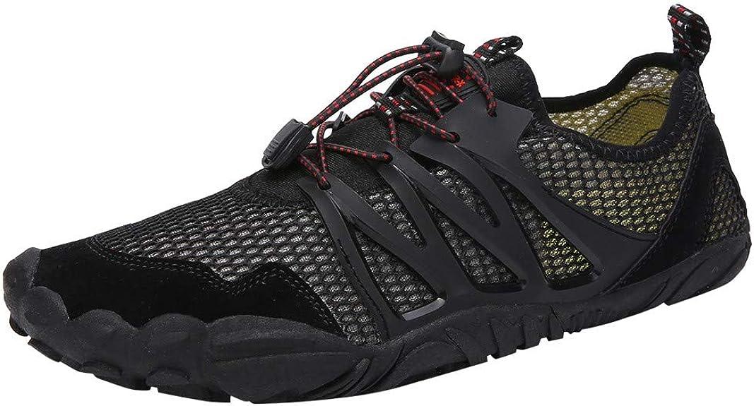 Zapatillas de Senderismo para Hombre Trail Running Aire Libre Deporte montaña Ligeras Trabajo Trekking Montaña y Asfalto Zapatos para Correr Sneakers Calzado vpass: Amazon.es: Zapatos y complementos