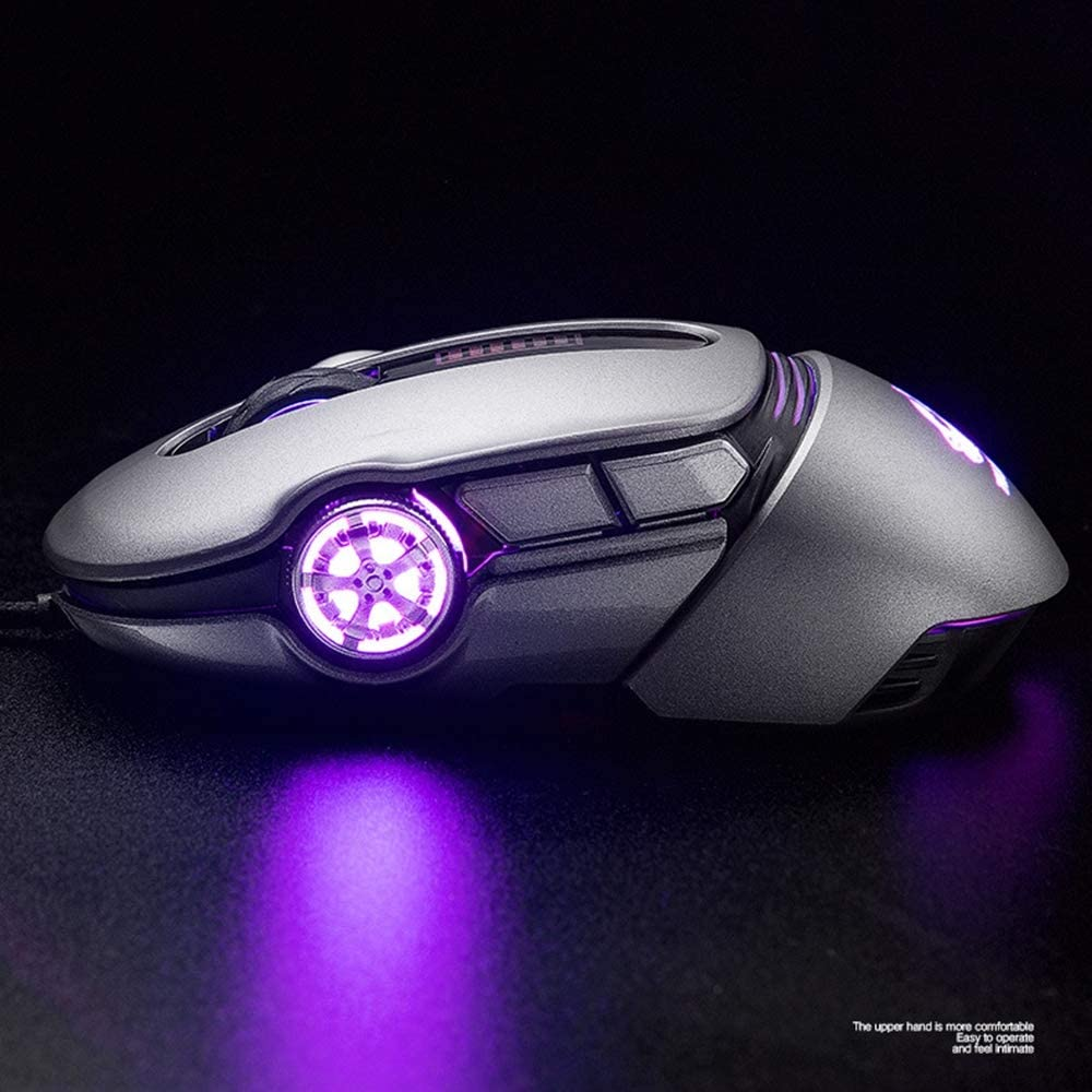 Mechanical Mouse Macro Programming Esports Game Sports Car Mouse for All Kinds of Online Games,Gray Ergonomic Gaming Mouse Lee Lam Computer Gaming Mouse