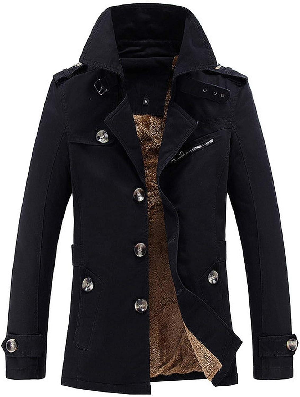 Winter Jacket Men Thick Warm Cotton Parkas Coat Outerwear Zipper Winter Jackets Mens Parka