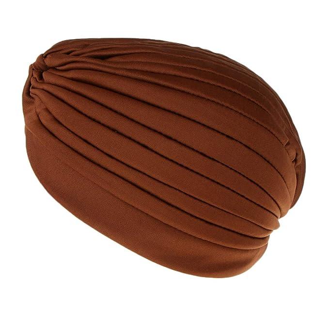 Dame Tuchmütze Turban Stirnband Kopftuch Chemomütze Muslim Cap Beaniemütze Paket