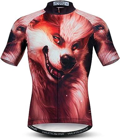 Ciclismo Jersey Mens Tops Racing Ciclismo Ropa Manga Corta Bicicleta Camisa
