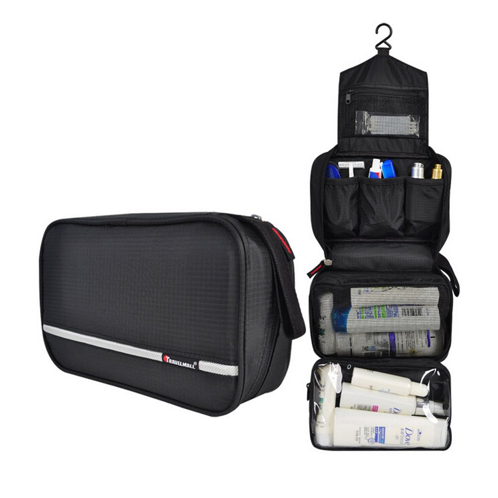 b9ee3cf97e52 WOMHOPE?3 Pockets - Waterproof Folding Travel Storage Bag Hanging ...