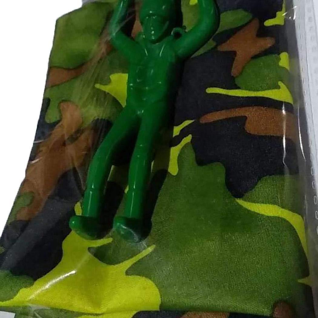 Caiuet Cartoon Soldier Shape Parachute Toys Kids Outdoor Fun Game Kites