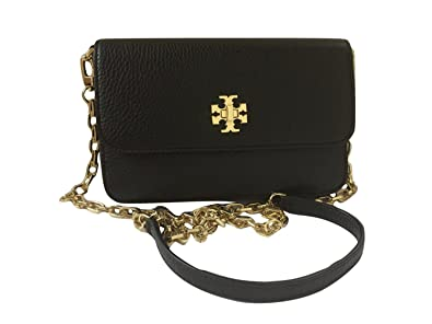 d0f9e1c3e Tory Burch Mercer Classic Cross-body Bag Clutch Purse Style No. 31409  (Black)  Amazon.in  Shoes   Handbags