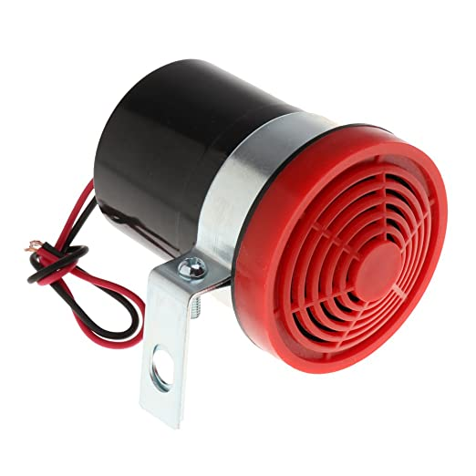 Amazon.com: Baosity 2pcs 12V Reversing Alarm Backup Horn Reverse Siren Beeper Buzzer Warning Alert for Various Engineering Vehicle, Autos Trucks: Automotive