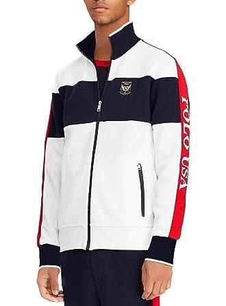 Polo Ralph Lauren Sweat Ziper Blanche Homme  Amazon.fr  Vêtements et  accessoires 782c743baf5