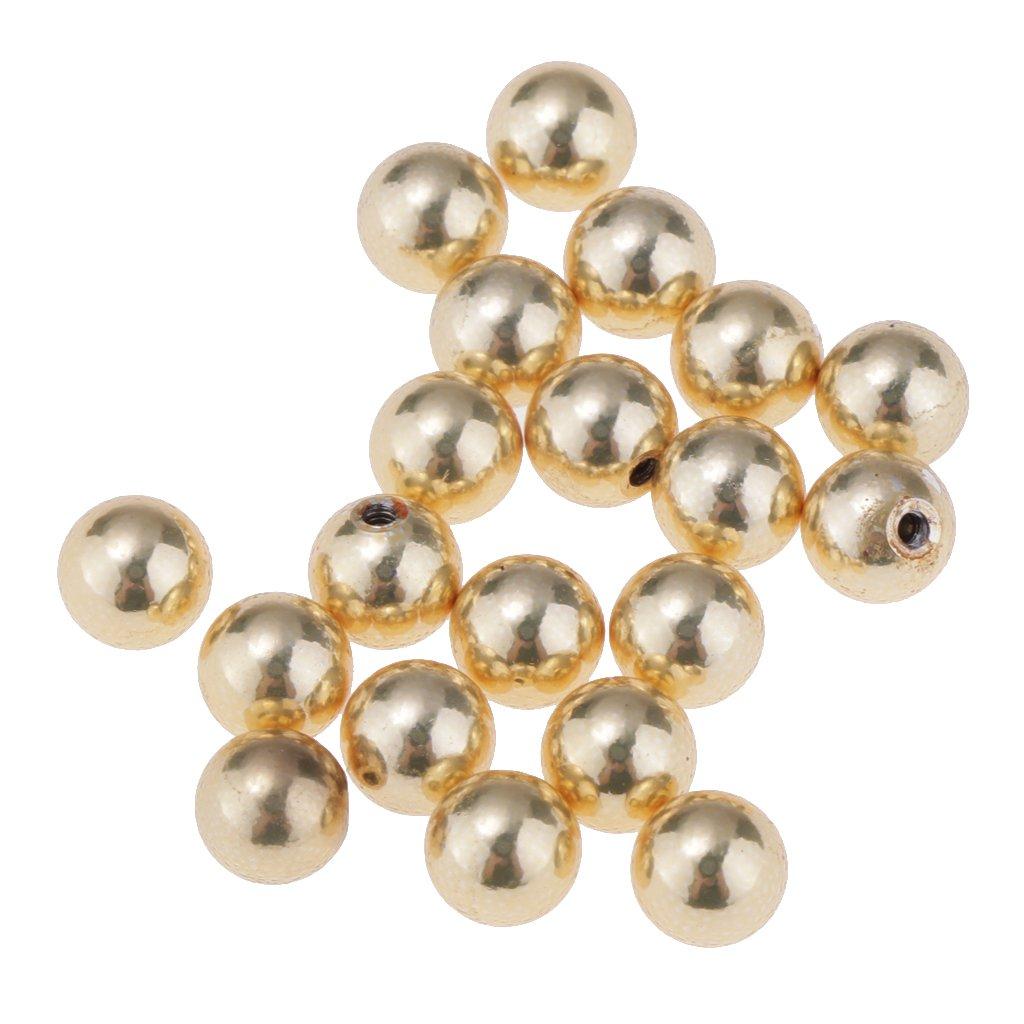 Baoblaze 20pcs 16g Spare Ball Labret Lip Tragus Stud Body Jewelry 5mm Ball Closure 579007180760364000
