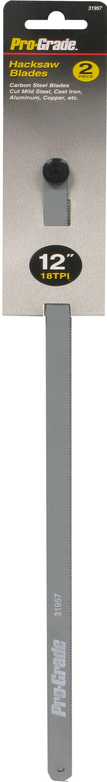 Pro-Grade 31957 12-Inch/18 TPI  Carbon Hacksaw Blade