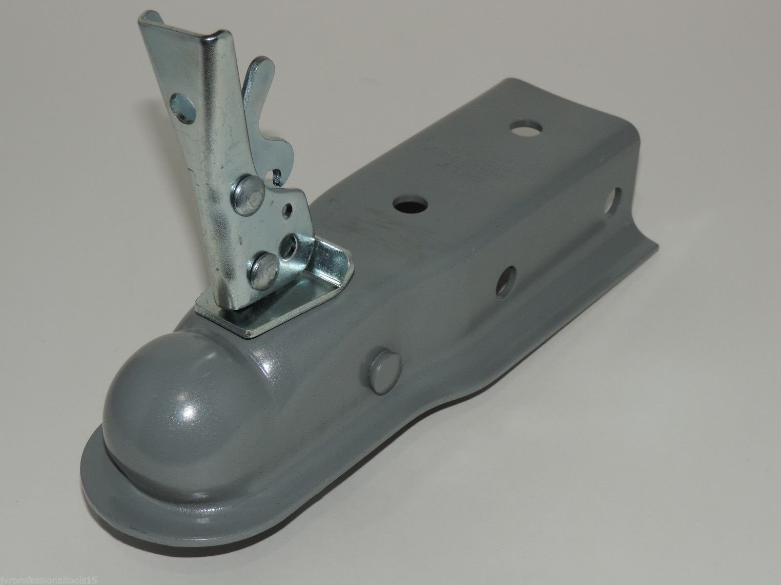 Simply Silver - Hitch Back Trailer - 2'' x 2'' Ball Hitch Back Trailer Coupler Tongue 2'' Class II 3,500 Ibs V5 & SAE