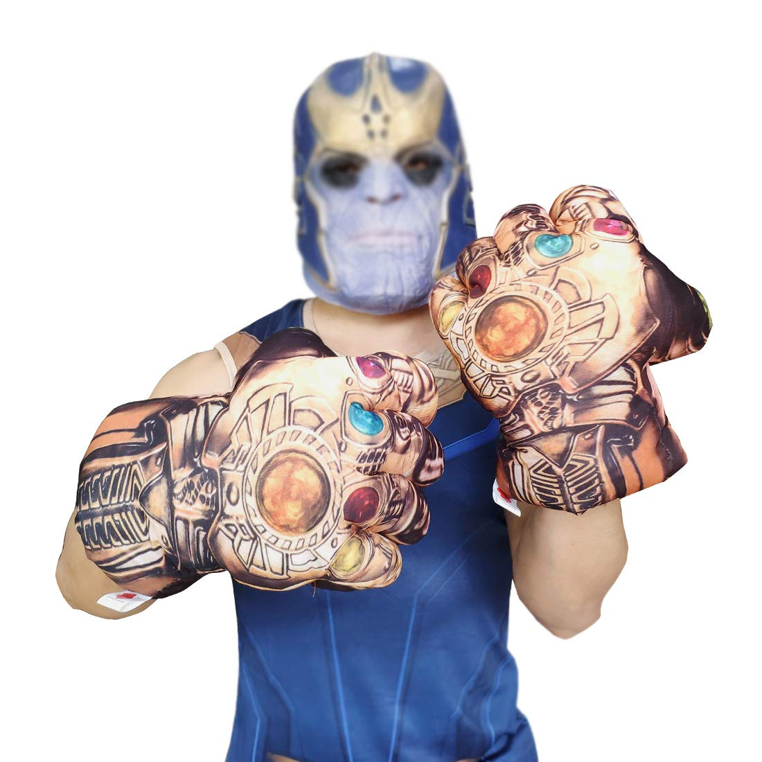 GREATCHILDREN Thanos Gloves Toys Thanos Hands Cosplay Costume Accessories (One Size)