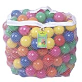 Toys : Click N' Play CNP30336 Phthalate Bpa Free Crush Proof Plastic Pit Balls, 6 Colors, 50-Pack
