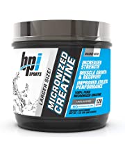 BPI Sports Micronized Creatine - Increase Strength - Reduce Fatigue - Lean Muscle Building - 100% Pure Creatine - Better Absorption - Supports Muscle Growth - Unflavored - 120 Servings - 21.12 oz.