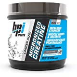 BPI Sports Micronized Creatine - Increase Strength - Reduce Fatigue - Lean Muscle Building - 100% Pure Creatine - Better…