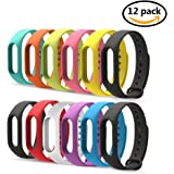 For Xiaomi Mi Band 2 Bracelet, Pokeda Replacement Strap Wristband Accessories for Xiaomi Mi Band 2 Smart Watch